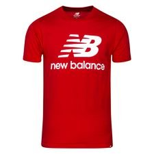 New Balance Essentials T-Shirt - Bordeaux/Weiß