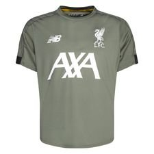 Liverpool Training T-Shirt - Agave/Weiß Kinder