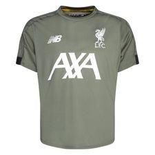 Liverpool Tränings T-Shirt - Grön/Vit Barn