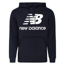 New Balance Essentials Hoodie Logo - Navy/Weiß