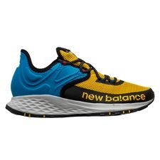 New Balance Fresh Foam Trail - Blau/Gold