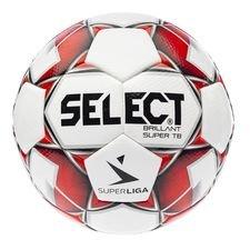 Select Fotboll Brillant Super TB 3F Superliga - Vit/Röd
