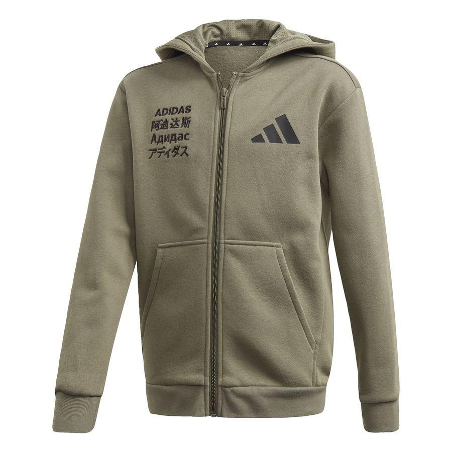adidas Athletics Pack Fleece hoodie Green thumbnail