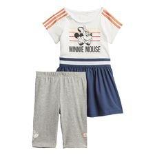 Minnie Maus Sommer-Set Weiß