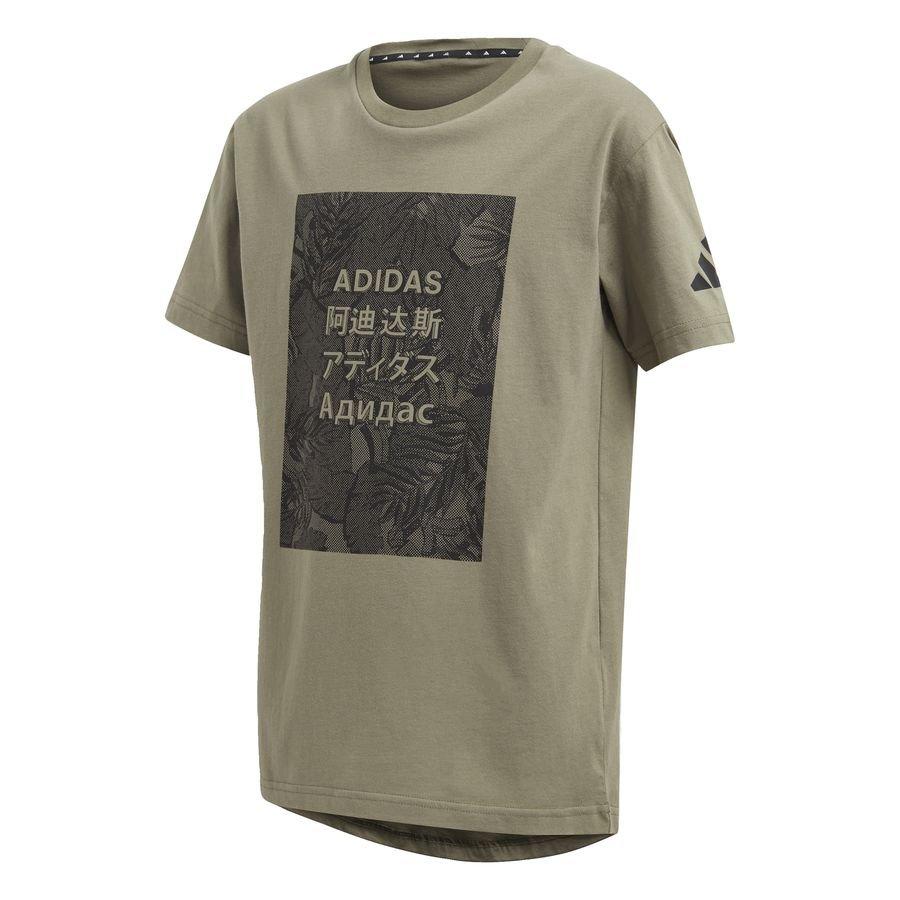 adidas Athletics Pack T-shirt Green thumbnail