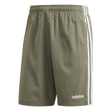 Essentials 3-Stripes Chelsea Shorts 7 Inch Grön