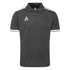 Select Polo Monaco Technical - Grau/Weiß