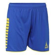 Select Shorts Argentinien - Blau/Gelb Damen