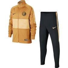 Inter Mailand Trainingsanzug Dry Strike - Bronze/Schwarz/Gold Kinder