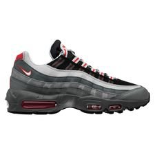 Nike Air Max 95 Essential - Grå/Rød/Sort thumbnail