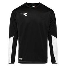 Diadora Sweatshirt Equipo - Schwarz/Weiß