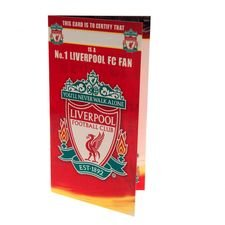 Liverpool Födelsedagskort - Röd