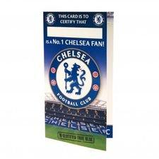 Chelsea Födelsedagskort - Blå