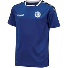 Greve Fodbold Hjemmebanetrøje - Blå Inkl nr