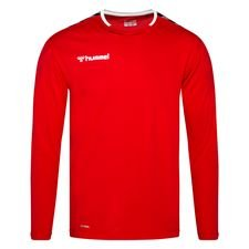 Hummel Trikot Authentic Poly - Rot/Weiß