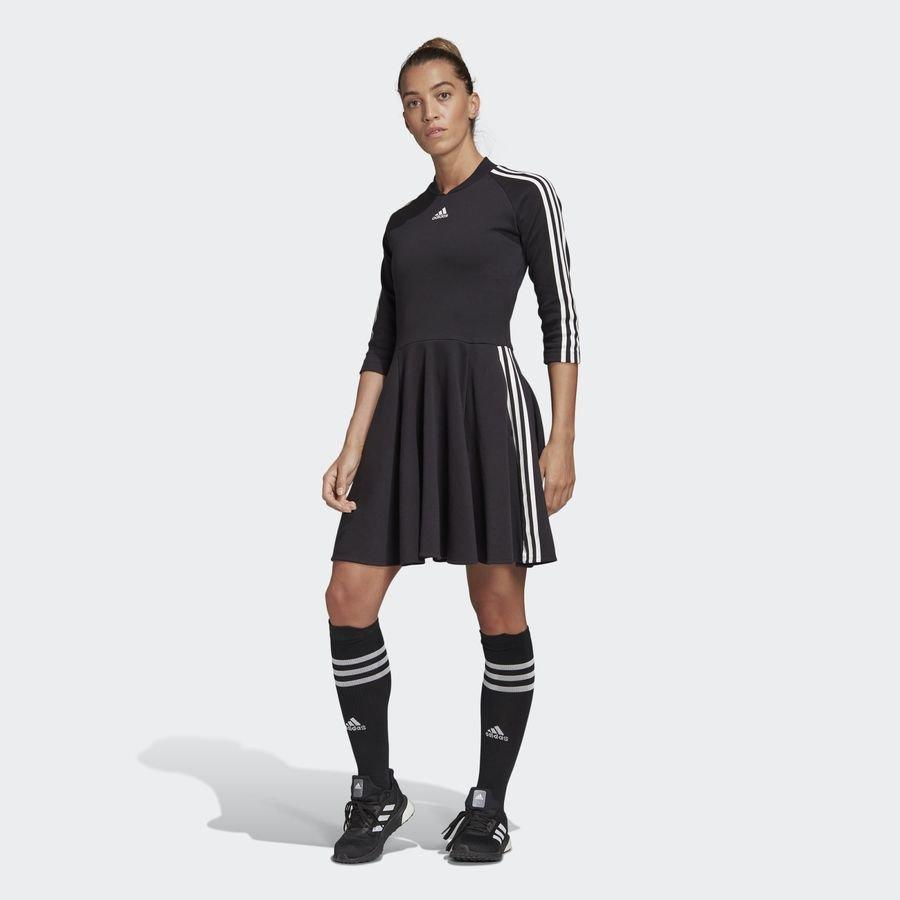 3-Stripes kjole Sort thumbnail