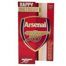 Arsenal Födelsedagskort - Röd