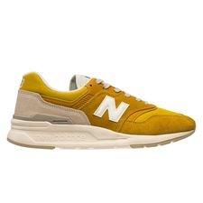 New Balance Sneaker 997HBR - Gold/Weiß