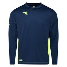Diadora Training T-Shirt Equipo - Navy/Gelb