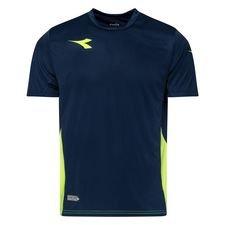 Diadora Tränings T-Shirt Equipo - Navy/Gul