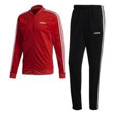 3-Streifen Trainingsanzug Rot