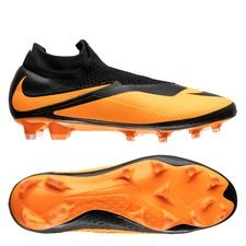 Nike Phantom Vision 2 Elite DF FG Future DNA - Sort/Orange