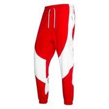 Nike Fleece Byxor Jordan x PSG - Röd/Vit Dam LIMITED EDITION