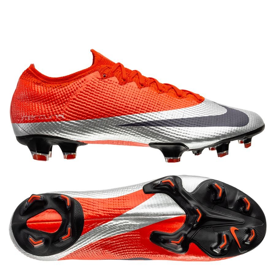 Nike Mercurial Vapor 13 Elite FG Future DNA – Orange/Sølv/Sort LIMITED EDITION