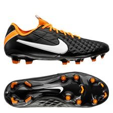 Nike Tiempo Legend 8 Elite FG Future DNA - Sort/Hvid/Orange LIMITED EDITION