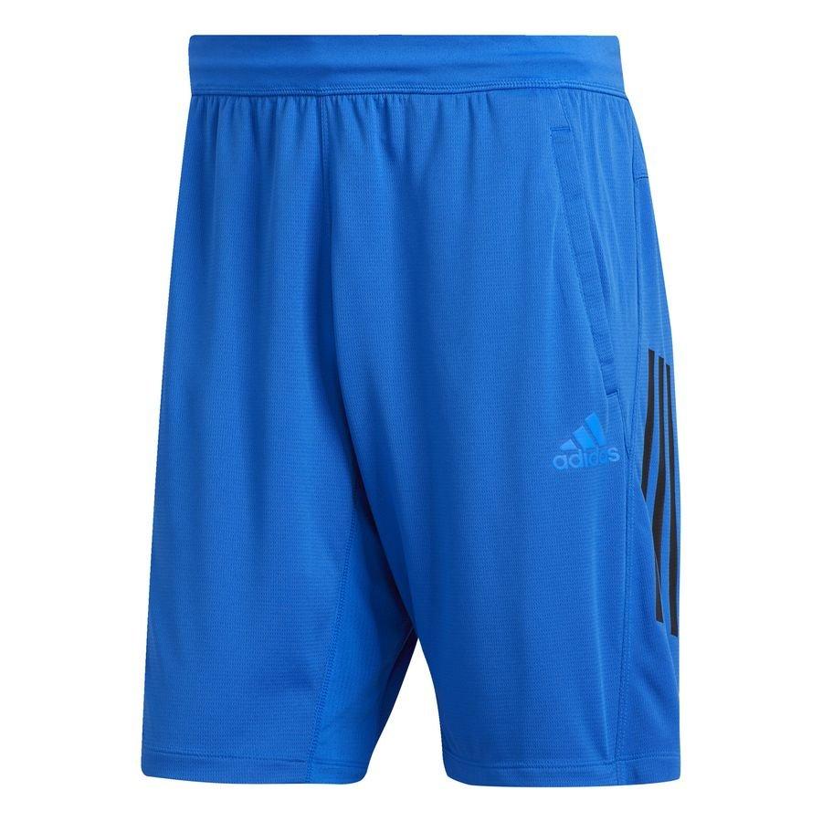 3-Stripes shorts, 23 cm Blå thumbnail
