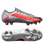 Nike Mercurial Vapor 13 Elite FG Neighbourhood - Metallic Bomber Grey/Schwarz/Particle Grey