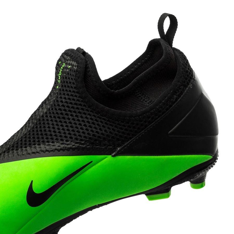 Nike Phantom Vision 2 Academy DF MG LAB2 GroenZilverZwart Kinderen