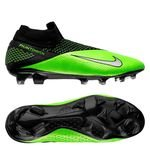 Nike Phantom Vision 2 Elite DF FG LAB2 - Noir/Metallic Platinum/Vert