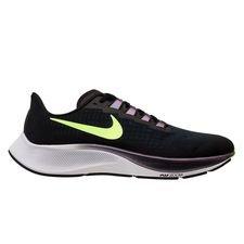Nike Laufschuhe Air Zoom Pegasus 37 - Schwarz/Lime Blast/Valerian Blue/Weiß