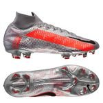 Nike Mercurial Superfly 7 Elite FG Neighbourhood - Metallic Bomber Grau/Schwarz/Grau