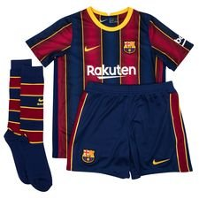 Barcelona Hemmatröja 2020/21 Mini-Kit Barn