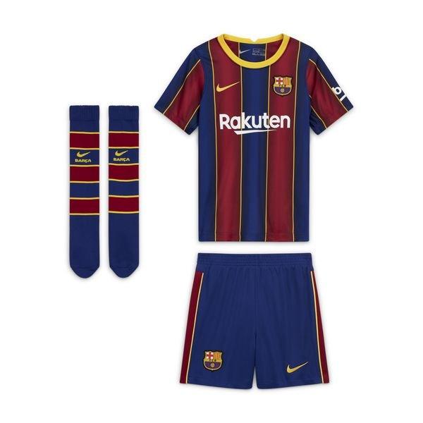 Barcelona Home Shirt 2020 21 Mini Kit Kids Www Unisportstore Com