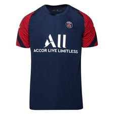 Paris Saint-Germain Tränings T-Shirt Breathe Strike - Navy/Röd