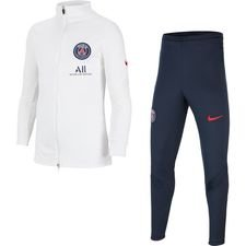 Paris Saint-Germain Trainingsanzug Dry Strike - Weiß/Rot Kinder
