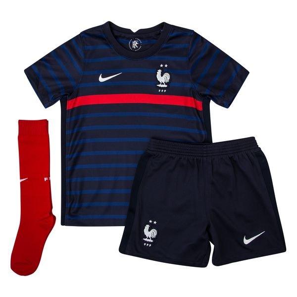 Frankrike Hjemmedrakt Euro 2020 Mini Kit Barn Www Unisportstore No