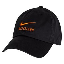 Holland Cap H86 Swoosh - Schwarz/Orange