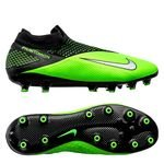 Nike Phantom Vision 2 Elite DF AG-PRO LAB2 - Noir/Metallic Platinum/Vert