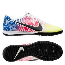 Nike Mercurial Vapor 13 Academy IC NJR Jogo Prismatico - Hvid/Sort/Blå/Neon
