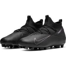 Nike Phantom Vision 2 Club DF MG Kinetic Black - Schwarz Kinder