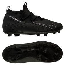 Nike Phantom Vision 2 Club DF MG Kinetic Black - Sort Børn