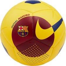 Barcelona Fotboll Futsal Maestro - Gul/Bordeaux/Navy