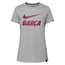 Barcelona T-Shirt Training Ground - Grå Dam