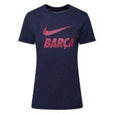 Barcelona T-Shirt Training Ground - Navy Dam