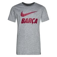 Barcelona T-Shirt Training Ground - Grå Barn