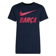 Barcelona T-Shirt Training Ground - Navy Barn